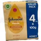 Johnson's Baby Soap 4x100g