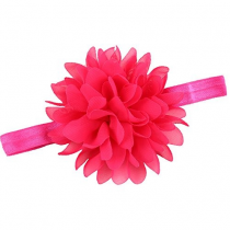 Head Band With Pink Flower