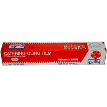 Castleview Catering Cling Film 450mm x 300m