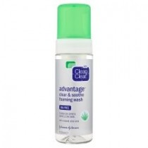 Clean and Clear Soothe Foaming Wash 150ml