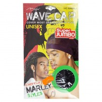 New Marley Style Wave Cap Black