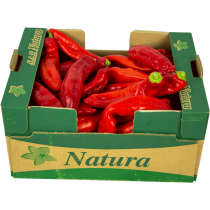 Fresh Long Red Pepper Box