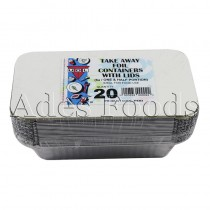 Take Away Foil Container No:6a 20pcs