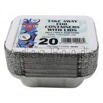Take Away Foil Container No:1 20pcs