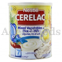 Cerelac Mixed Vegetables & Rice 400g
