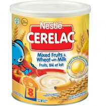 Cerelac Mixed Fruits & Wheat Nestle 400g